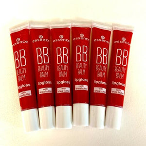 Essence BB Beauty Balm Lip Gloss Shea Butter 05 Heartbreaker .4 fl oz - 6 Pack