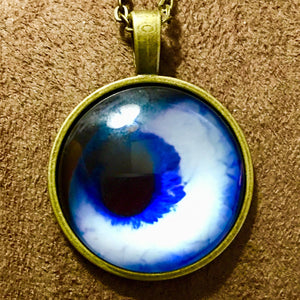 Eye Glass Cabochon Necklace - Synonyco.com