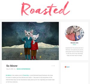 On parle de So Meow sur le blog Roasted Montreal