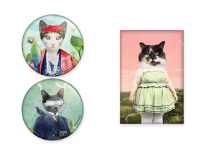 Aimants de chats par So Meow