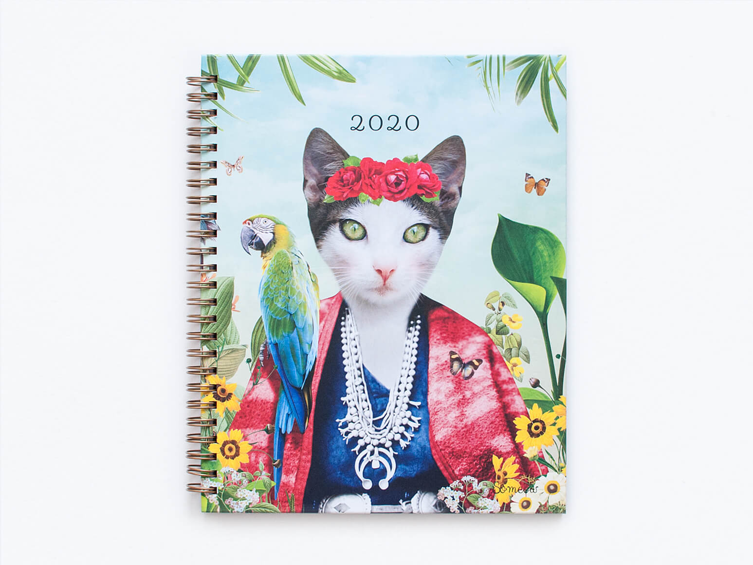 Agenda chat 2020 Frida par So Meow