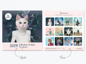 Calendrier de chats original par So Meow