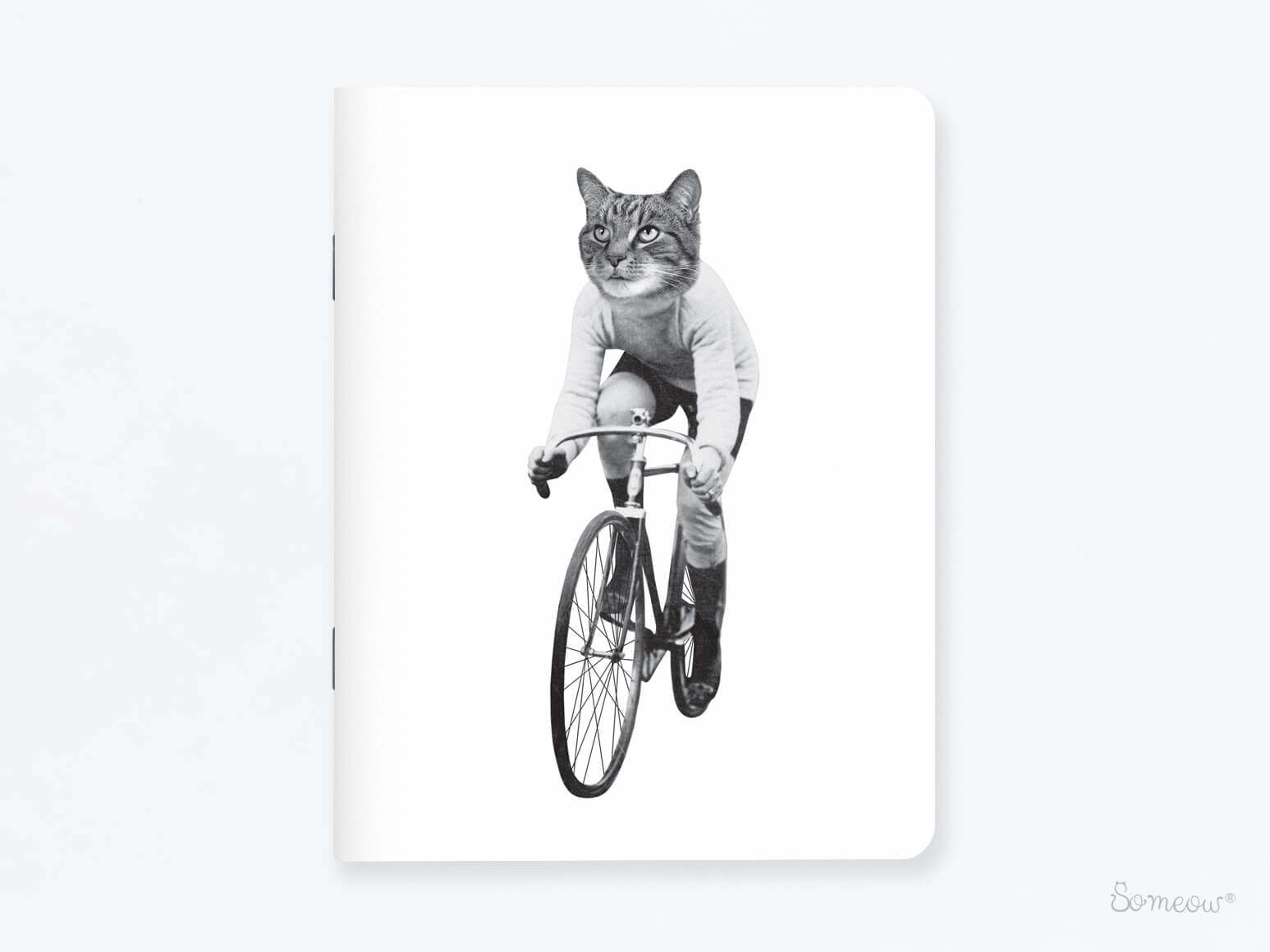 Carnet de notes Cat on Bike