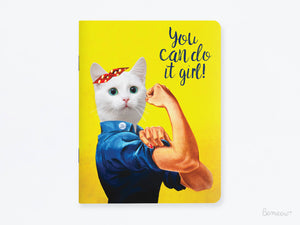 Duo de carnets The King Cat et You Can Do It Girl!