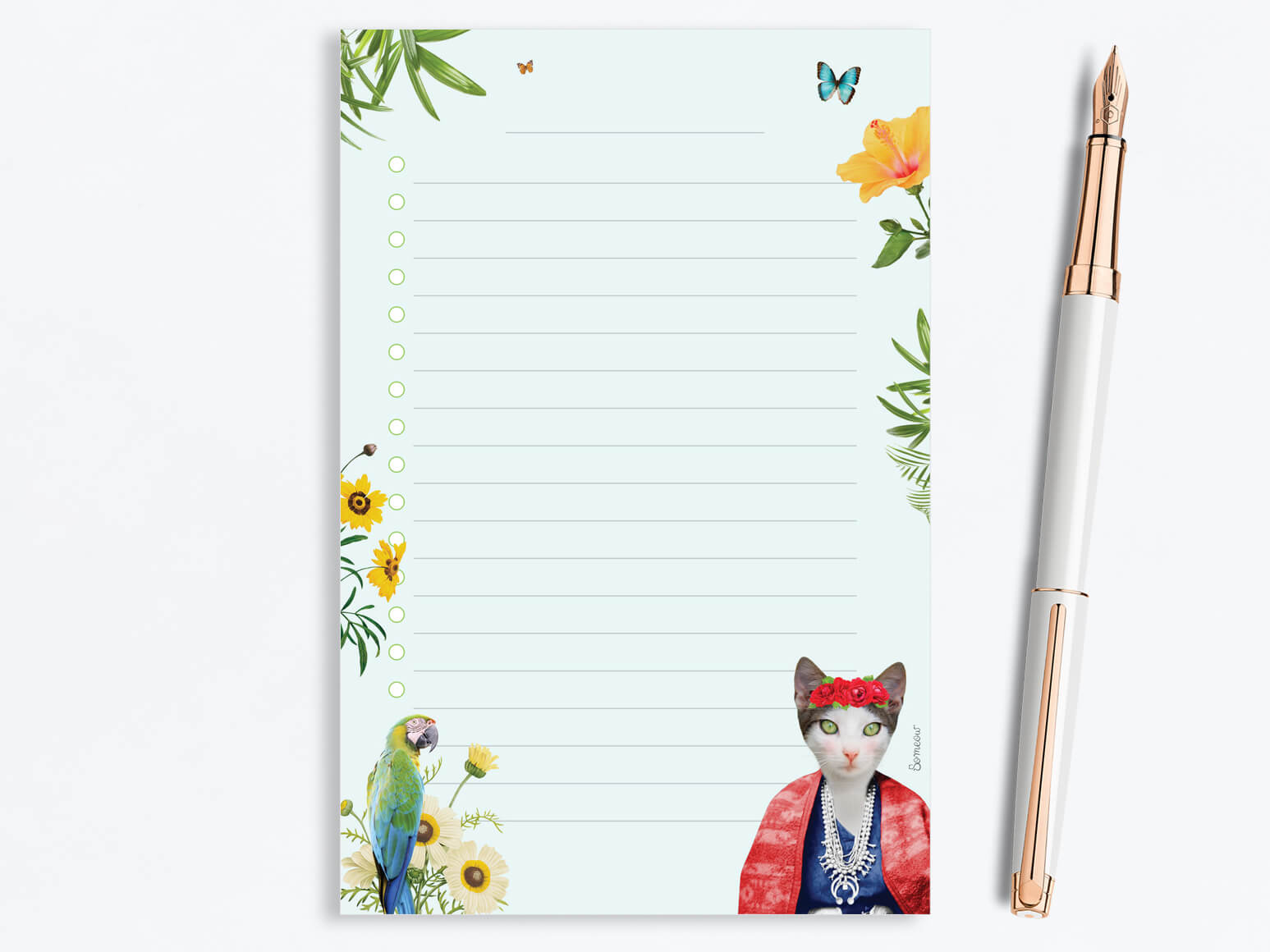 Bloc-notes Frida par So Meow