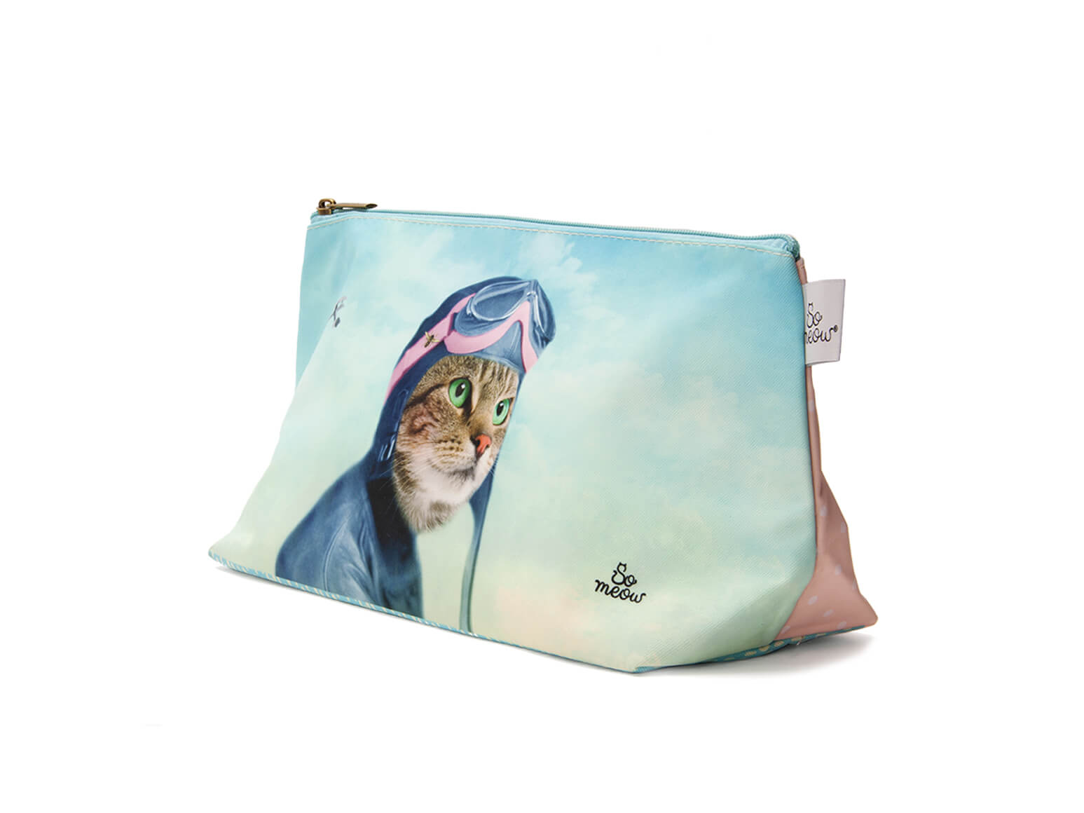 Grande pochette de chat l'exploratrice par So Meow