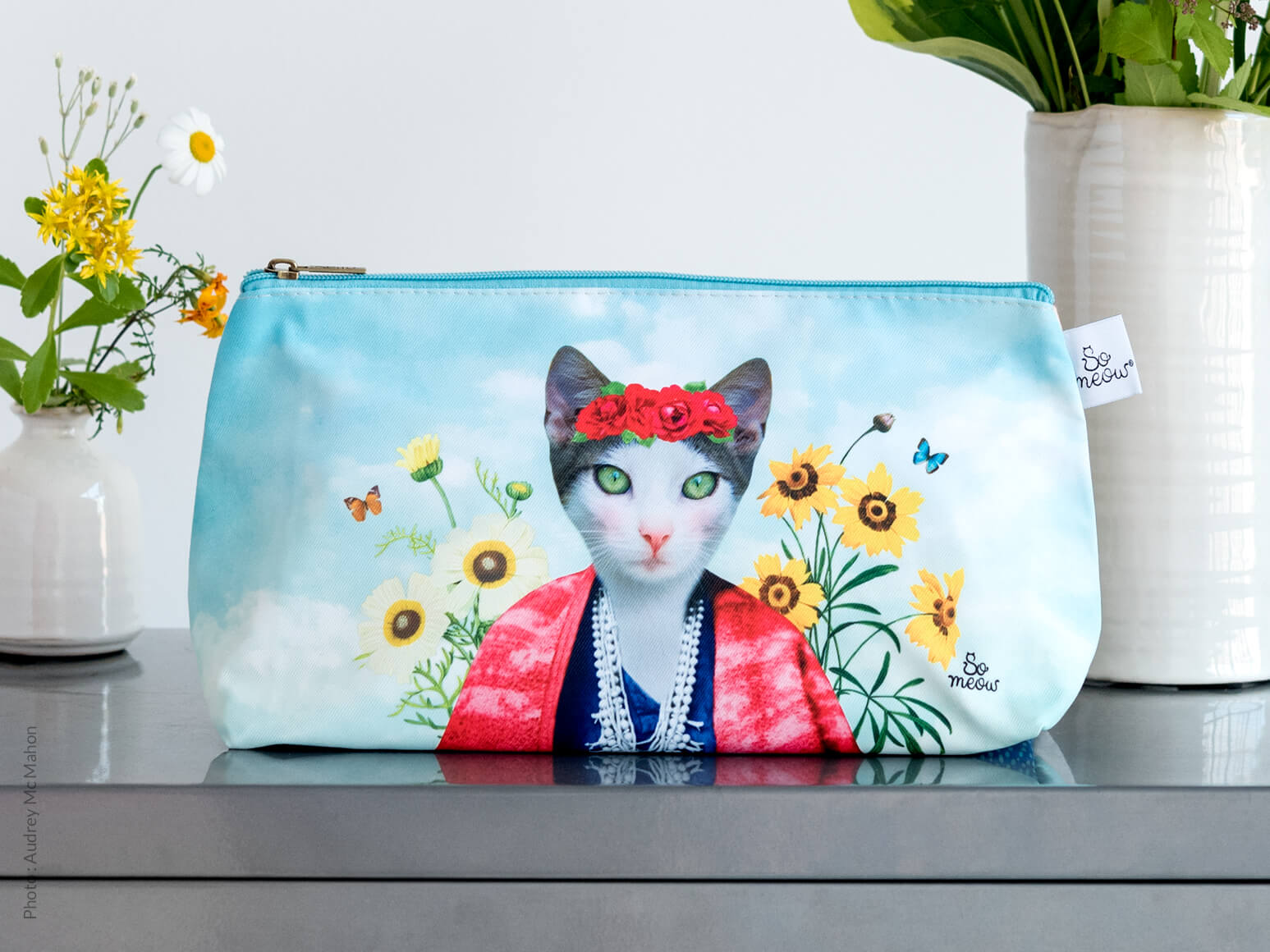 Grande pochette de chat Frida Cathlo par So Meow