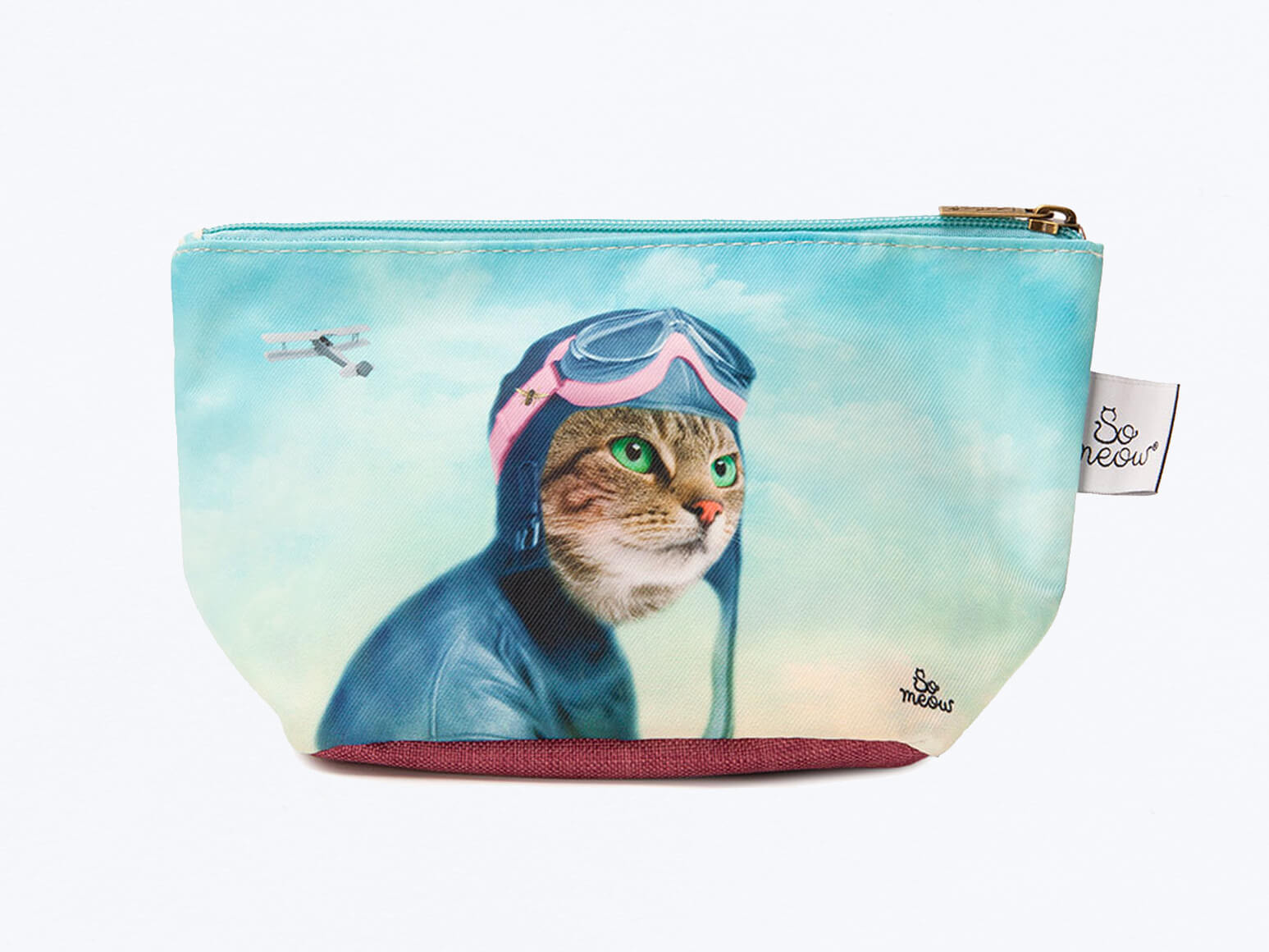 Pochette de chat l'exploratrice par So Meow