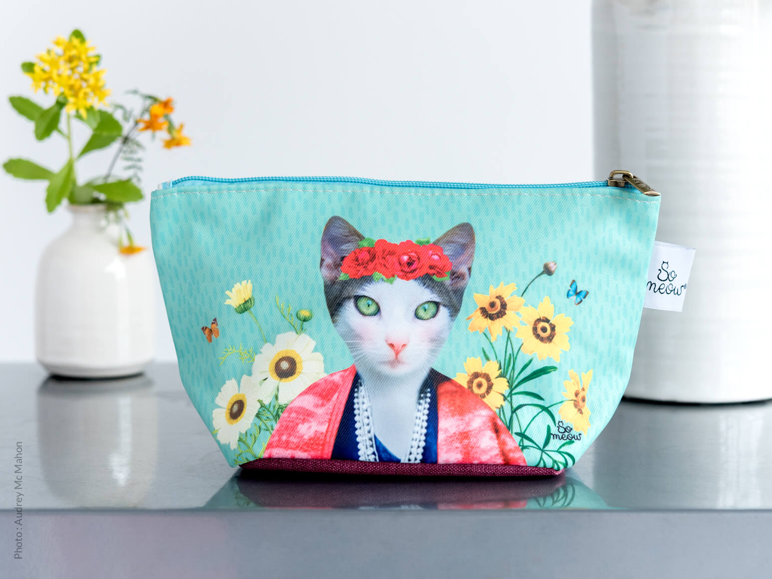 Pochette de chat Frida Cathlo par So Meow