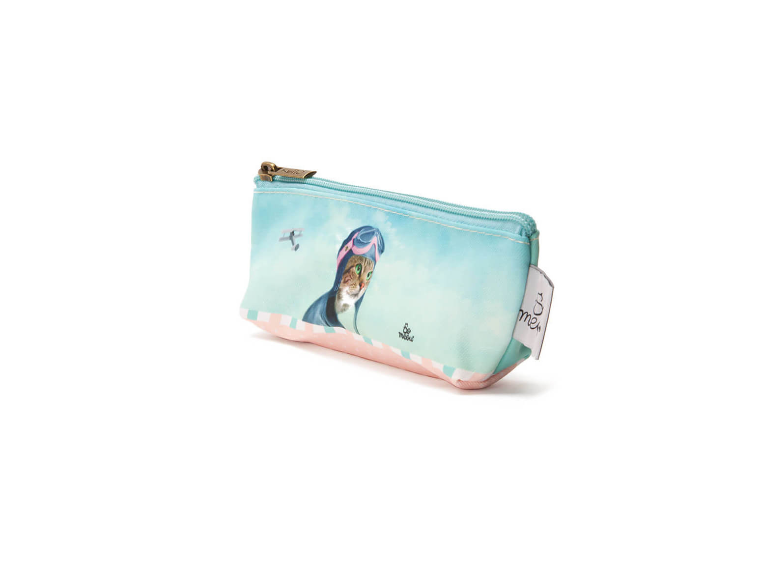 Mini pochette de chat l'exploratrice par So Meow