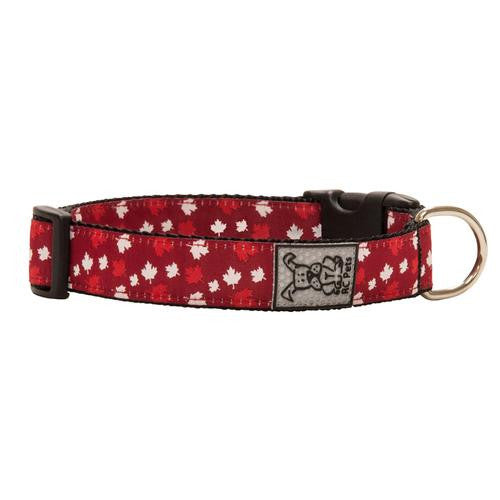 Canadiana Adjustable Clip Dog Collar by RC Pet