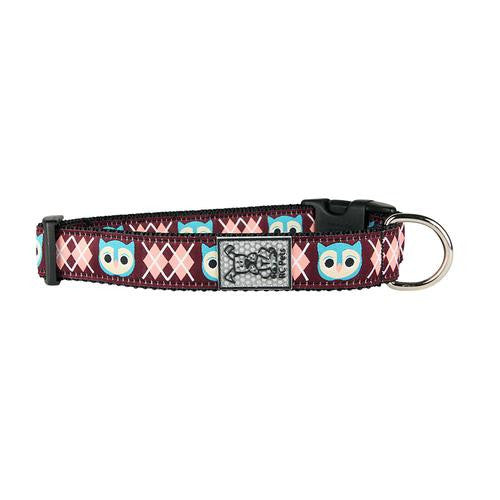 Owl Adjustable Dog Collar by RC Pet