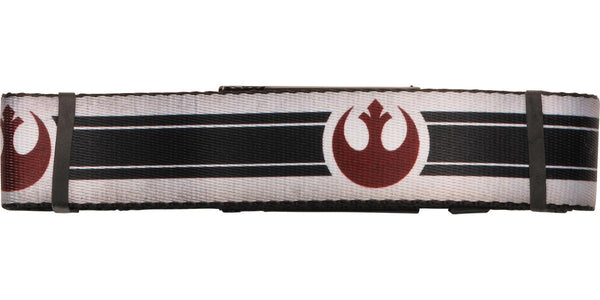 Star Wars Rebel Logo Stripe Wide Mesh Belt