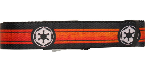 Star Wars Empire Logo Stripe Wide Mesh Belt