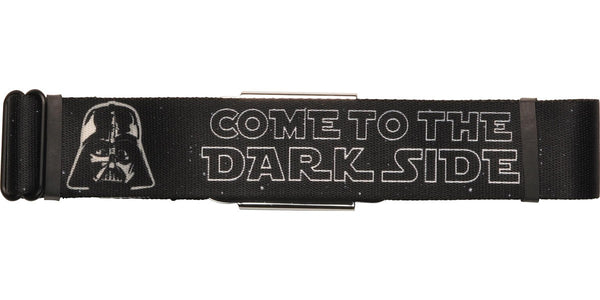Star Wars Vader Come Dark Stack Seatbelt Belt