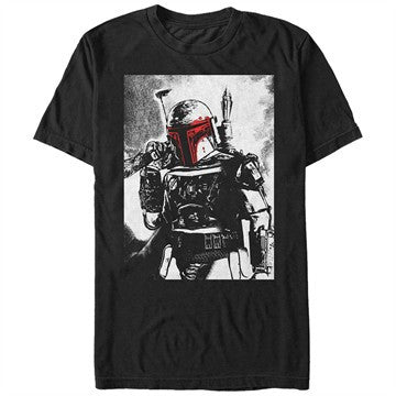 Star Wars Boba Bloody Helmet T-Shirt