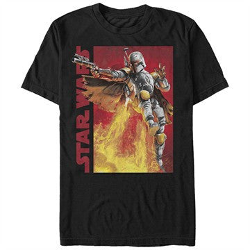 Star Wars Boba Fett Jets T-Shirt