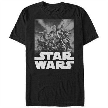 Star Wars Chewie vs Troopers T-Shirt