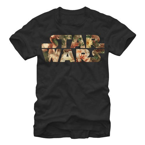 Star Wars Floral Logo T-Shirt