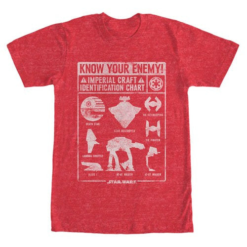 Star Wars Know Your Enemy T-Shirt