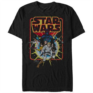 Star Wars Retro Comic T-Shirt