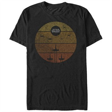 Star Wars Ship Gradient T-Shirt