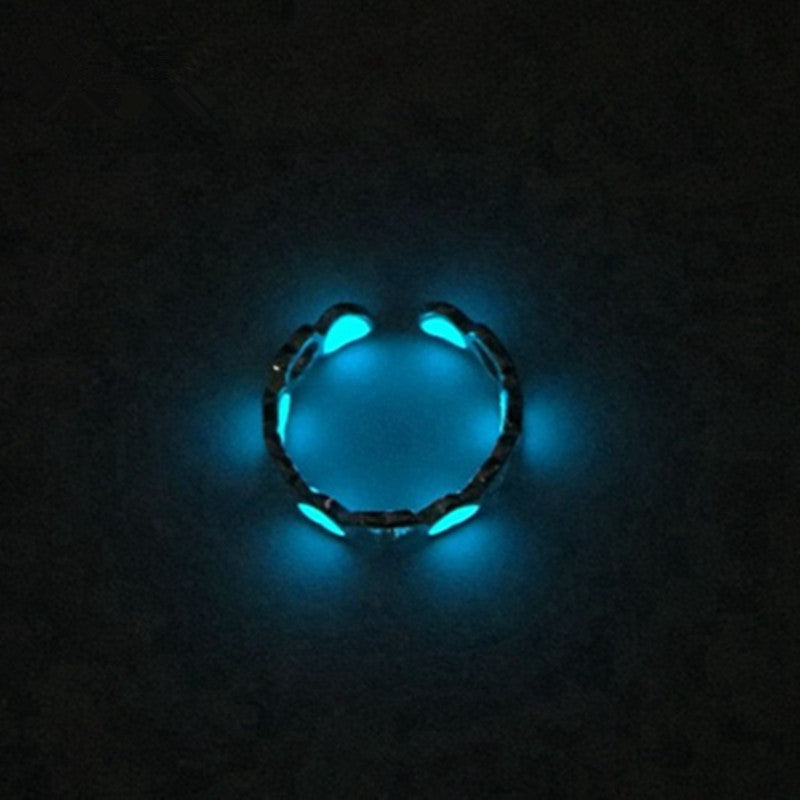 Glow-in-the-Dark Heart Ring - Charmora.com