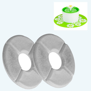 Cat Flower Water Fountain Replacement Filters (2 Pack) - Charmora.com