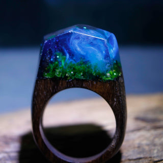Enchanted Ocean Oasis Ring - Charmora.com