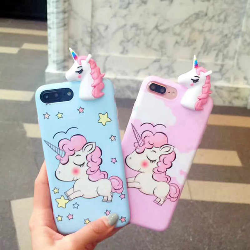 on sale 166ba f571b 3D Unicorn iPhone Case