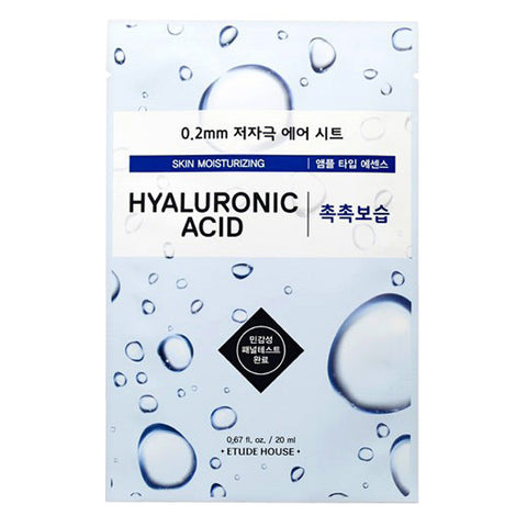 0.2 Air Therapy - Hyaluronic Acid - Skin Moisturizing, Etude House - Mooni Mask