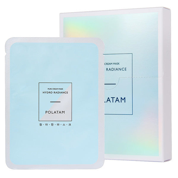 Pure Cream - Hydro Radiance, Polatam - Mooni Mask