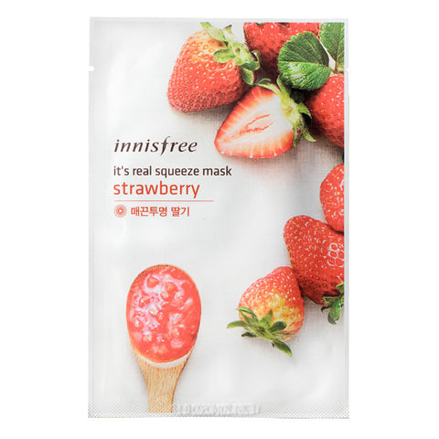It's Real Squeeze - Fraise, Innisfree - Mooni Mask