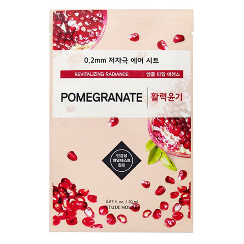 0.2 Air Therapy - Pomegranate - Revitalizing Radiance, Etude House - Mooni Mask