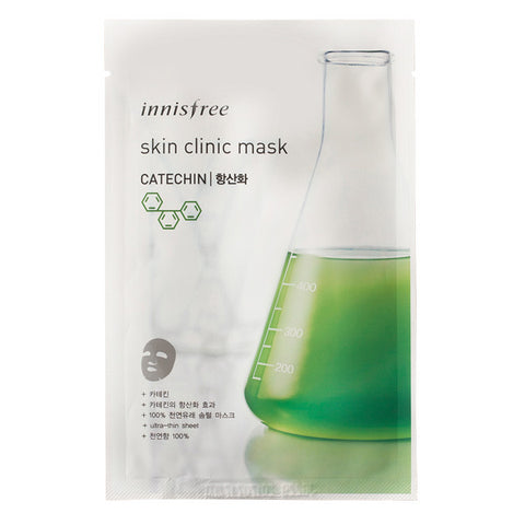 Skin Clinic - Catechin, Innisfree - Mooni Mask