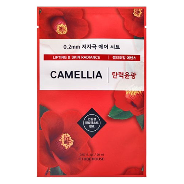 0.2 Air Therapy - Camellia - Lifting & Skin Radiance, Etude House - Mooni Mask