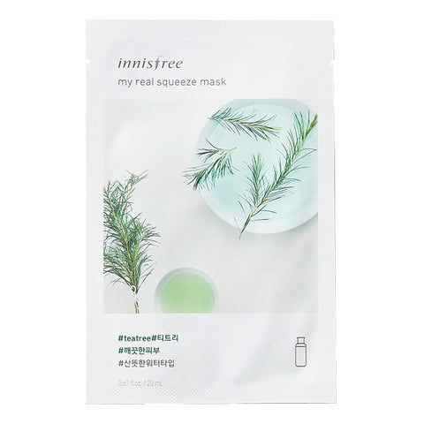 My Real Squeeze - Tea Tree, Innisfree - Mooni Mask