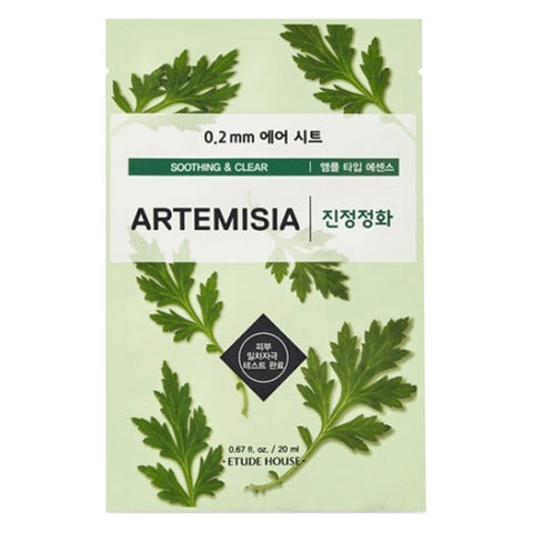 Air Therapy - Artemisia - Soothing & Clear, Etude House - Mooni Mask