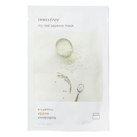 My Real Squeeze - Rice, Innisfree - Mooni Mask