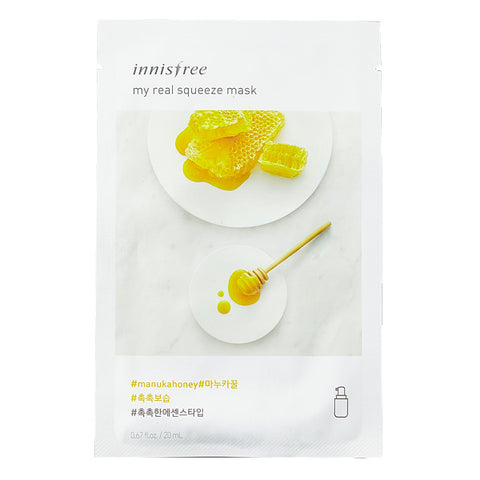 My Real Squeeze - Manuka Honey, Innisfree - Mooni Mask