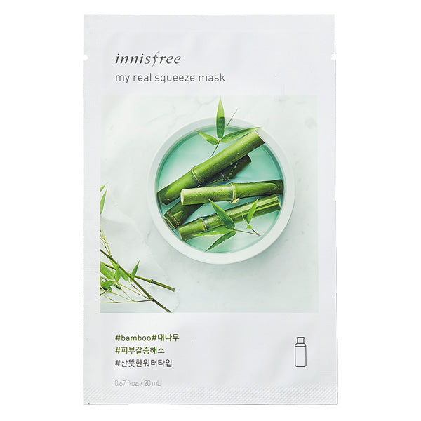 My Real Squeeze - Bamboo, Innisfree - Mooni Mask