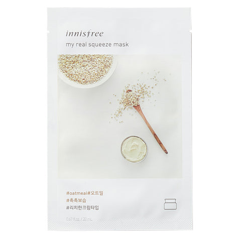 My Real Squeeze - Oatmeal, Innisfree - Mooni Mask