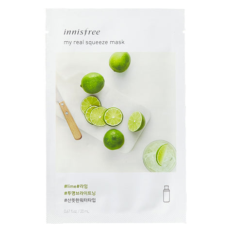 My Real Squeeze - Lime, Innisfree - Mooni Mask