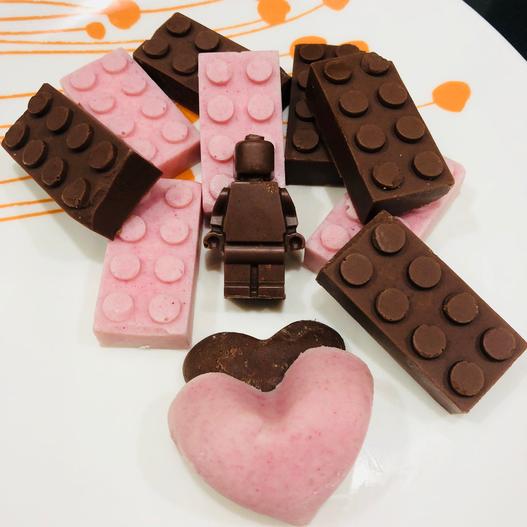 Coconut LEGO candy recipe