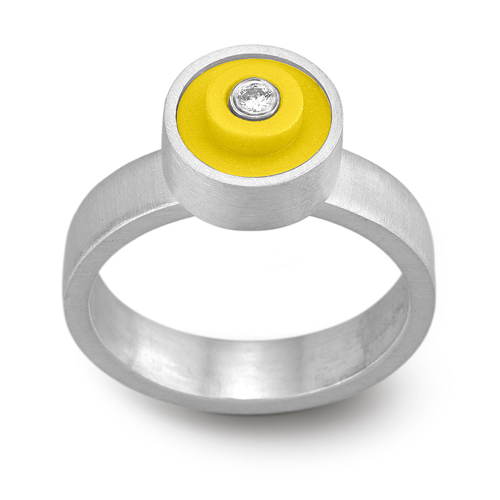 LEGO dot ring with diamond