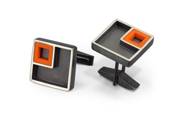 LEGO® House rendition cuff links