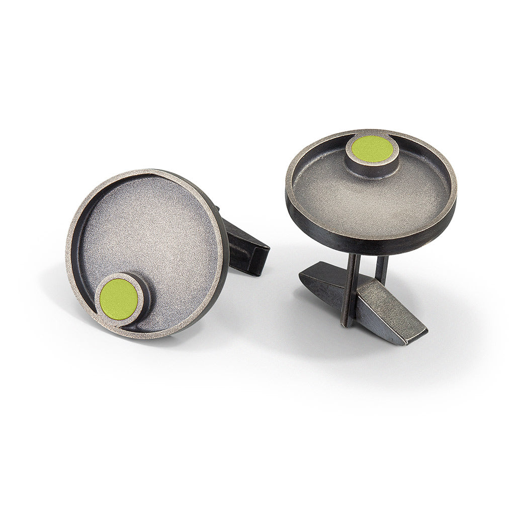 Hawthorne dot cuff links