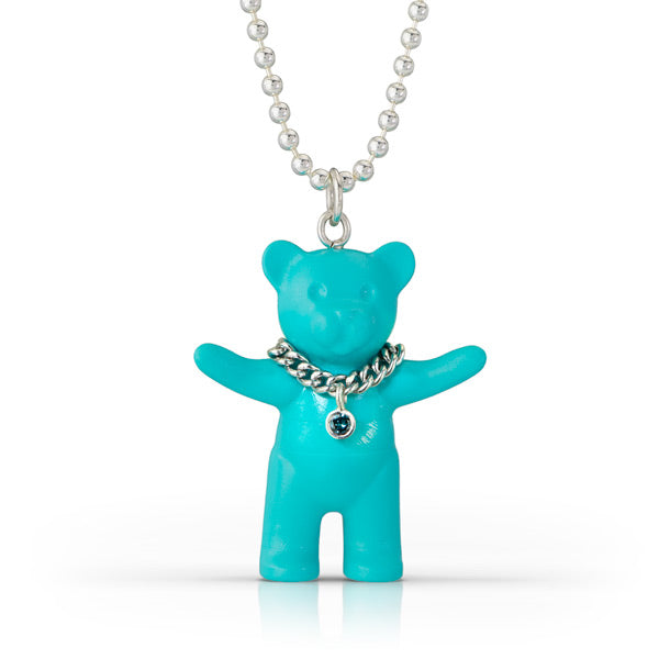 Turquoise Teddy Necklace