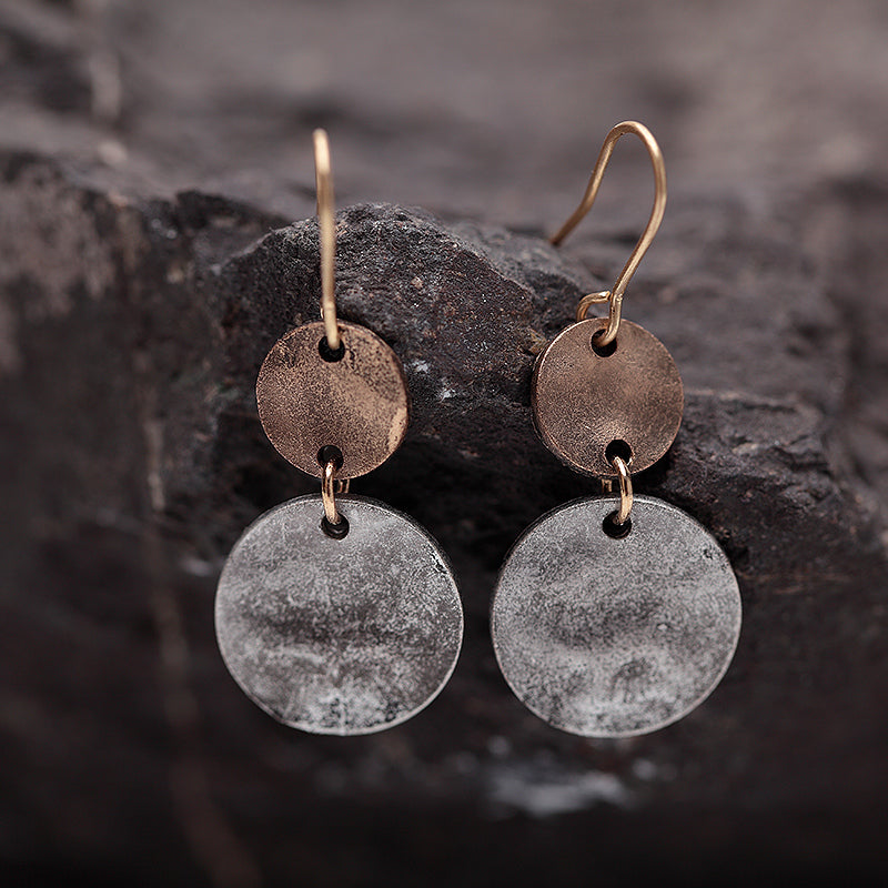 Nostalgia Zinc Alloy Drop Earrings - Nostalgiastyles Clothing Store Co.