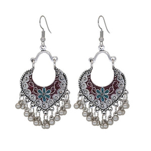 2018  Bohemian Boho Vintage Earrings  Silver Plated - Nostalgiastyles Clothing Store Co.